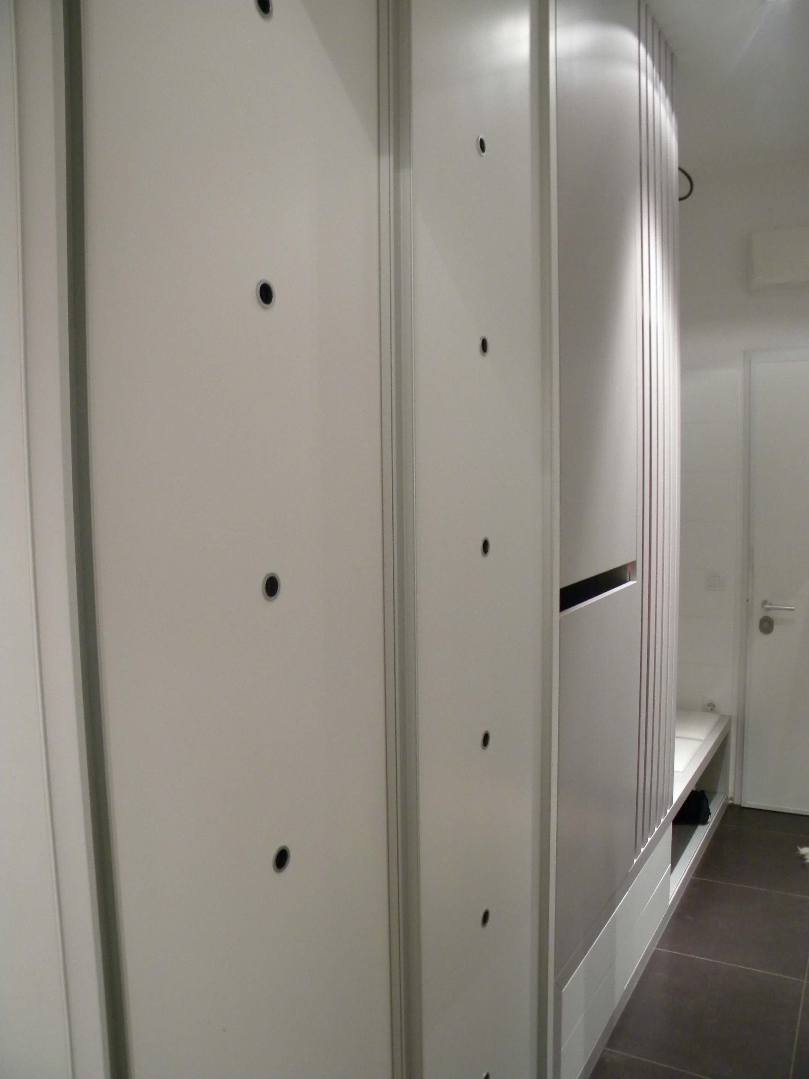 vgradna omara predsoba po naročilu