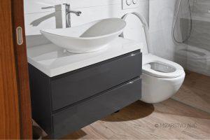 barvana omara za kopalnico