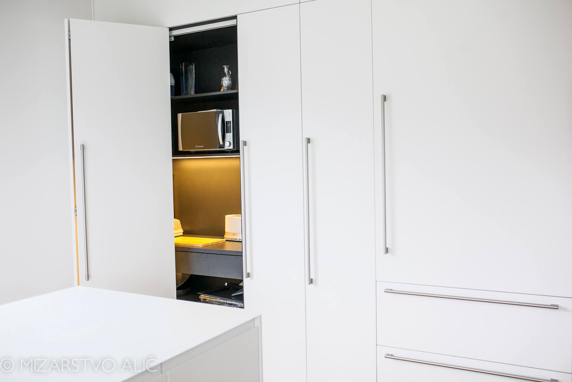 pohištvo za kuhinjo bela kuhinja