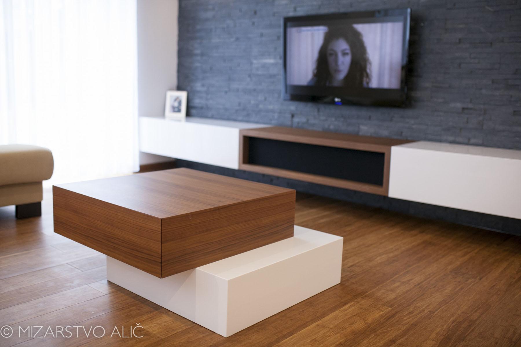 pohištvo za dnevno sobo po naročilu