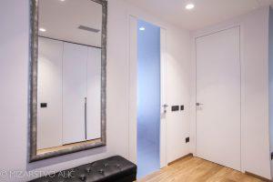 bela notranja vrata, zastekljena notranja vrata