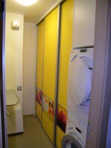 vgradna omara za pralnico po naročilu