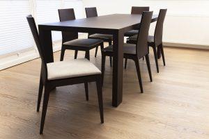 miza za jedilnico po naročilu