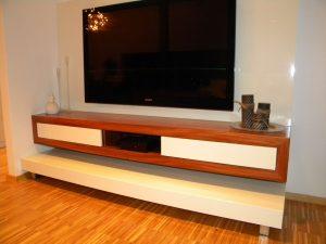 minimalistično pohištvo po meri za dnevno sobo