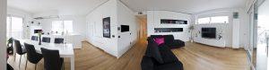 pohištvo za kuhinjo in dnevno sobo po meri