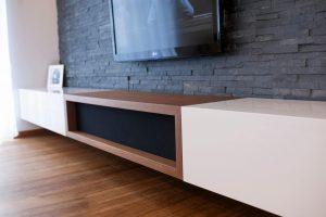 TV regal omara dnevna soba po naročilu