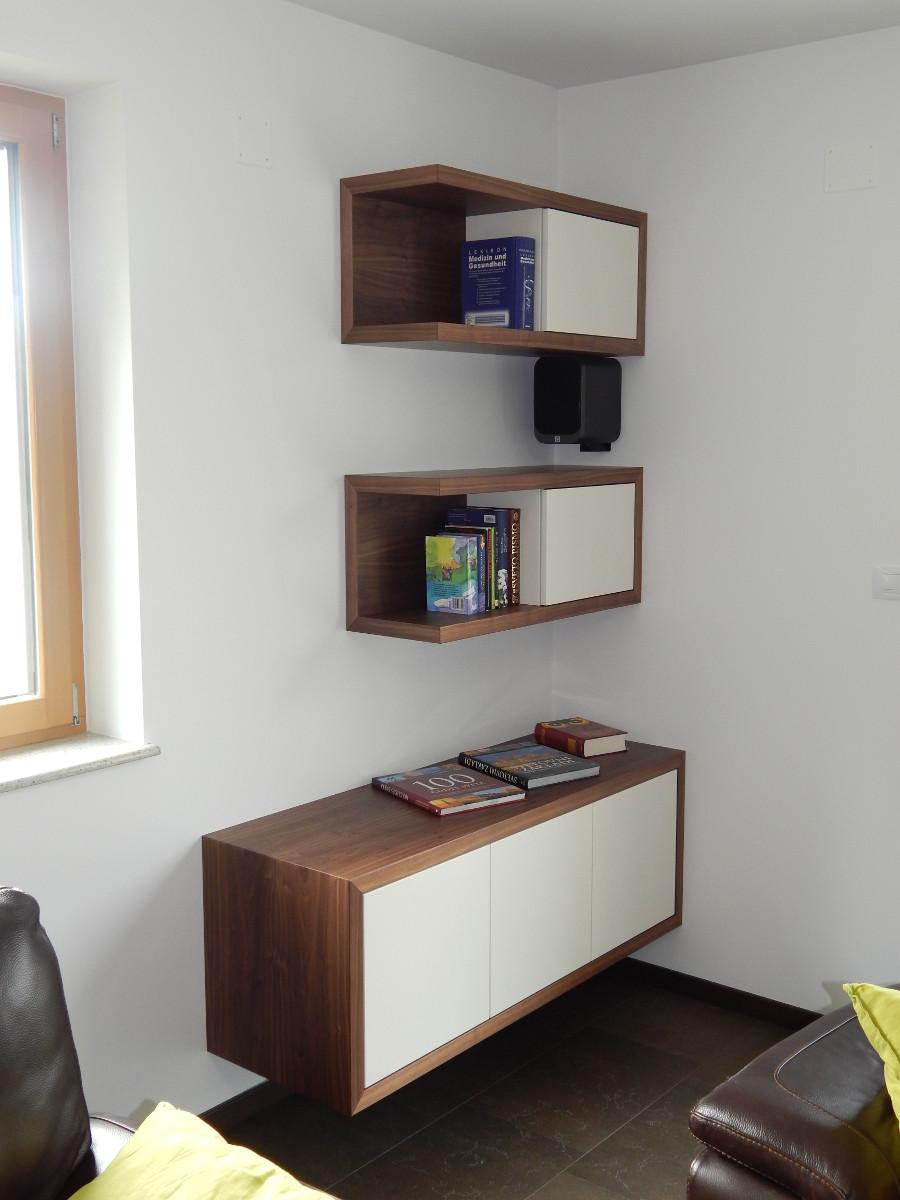 pohištvo za dnevno sobo, regal po meri
