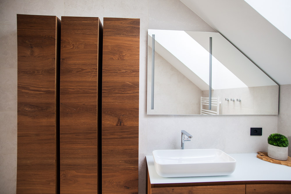lesene omarice za kopalnico kopalniški pult steklen